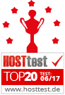 Hosttest Top20 06/2017